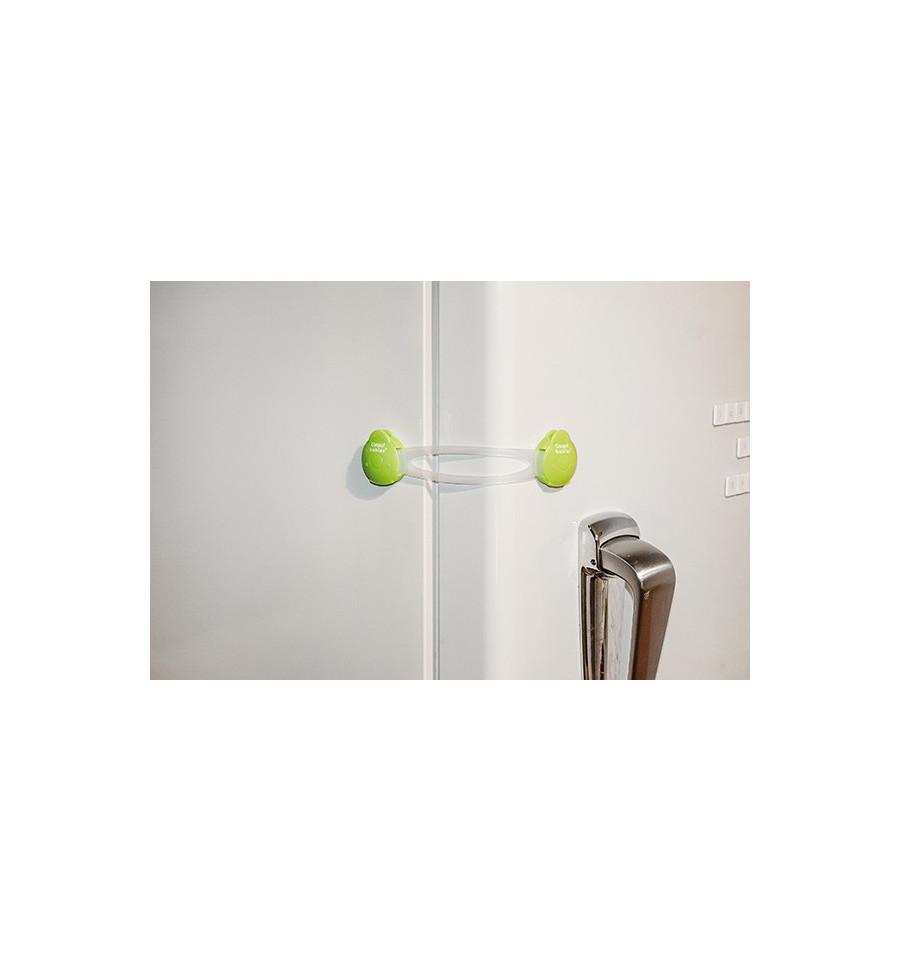 Canpol babies Bezpečnostný viacúčelový uzáver dlhý 2 ks Zelená