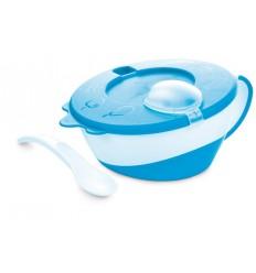 Plastová miska s lyžičkou