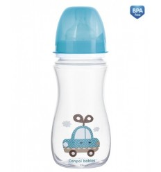 Dojčenská antikoliková fľaša široká EasyStart 300ml 12m+Toys
