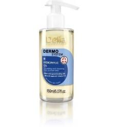 DERMO SYSTEM Hydrofilný olej s madlovým a arganovým olejom a vítamínmi A+E 150ml