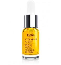 100% Sérum na tvár - Vitamínový komplex A+E+F 10 ml