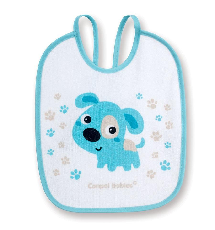 Canpol babies Podbradník bavlna Bunny&Company podšitý 3 ks