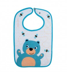 Canpol babies Podbradník bavlna Cute animals nepodšitý 1 ks