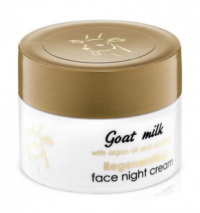Regeneračný krém na tvár s kozím mliekom (nočný) 50 ml