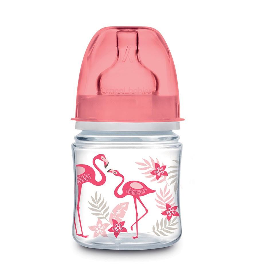 Canpol babies dojčenská antikoliková fľaša široká EasyStart 120 ml 0m+ Džungľa SKLADOM