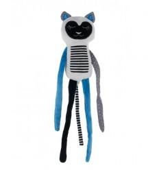 Canpol babies Plyšová hračka závesná 0+ Spiaci Lemur modrý