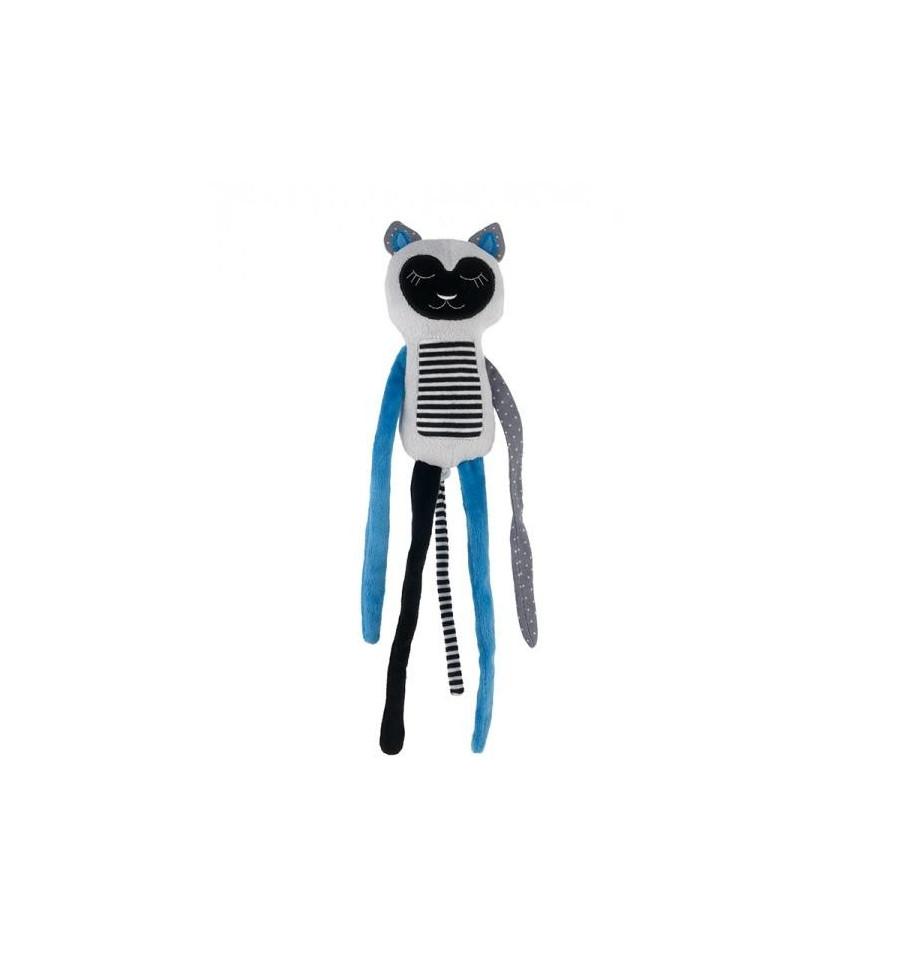 Canpol babies Plyšová hračka závesná 0+ Spiaci Lemur modrý SKLADOM