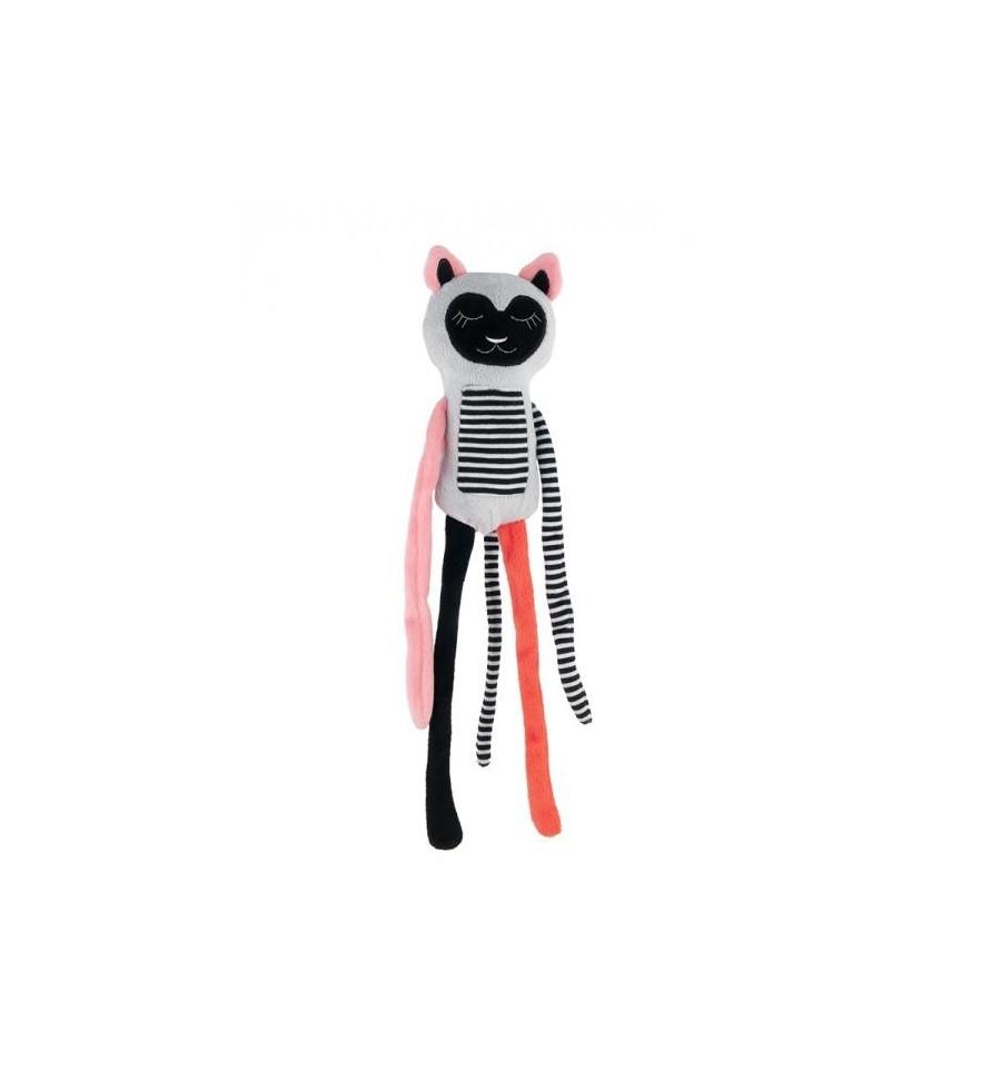 Canpol babies Plyšová hračka závesná 0+ Spiaci Lemur koralový