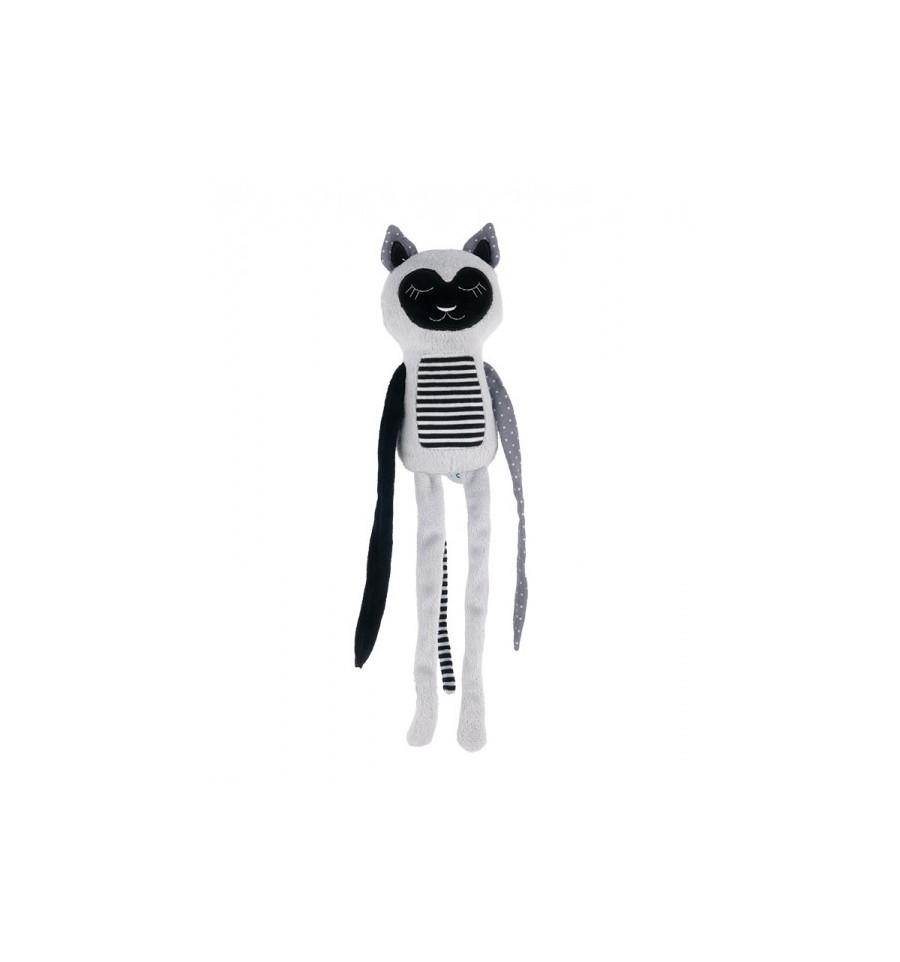 Canpol babies Plyšová hračka závesná 0+ Spiaci Lemur sivý