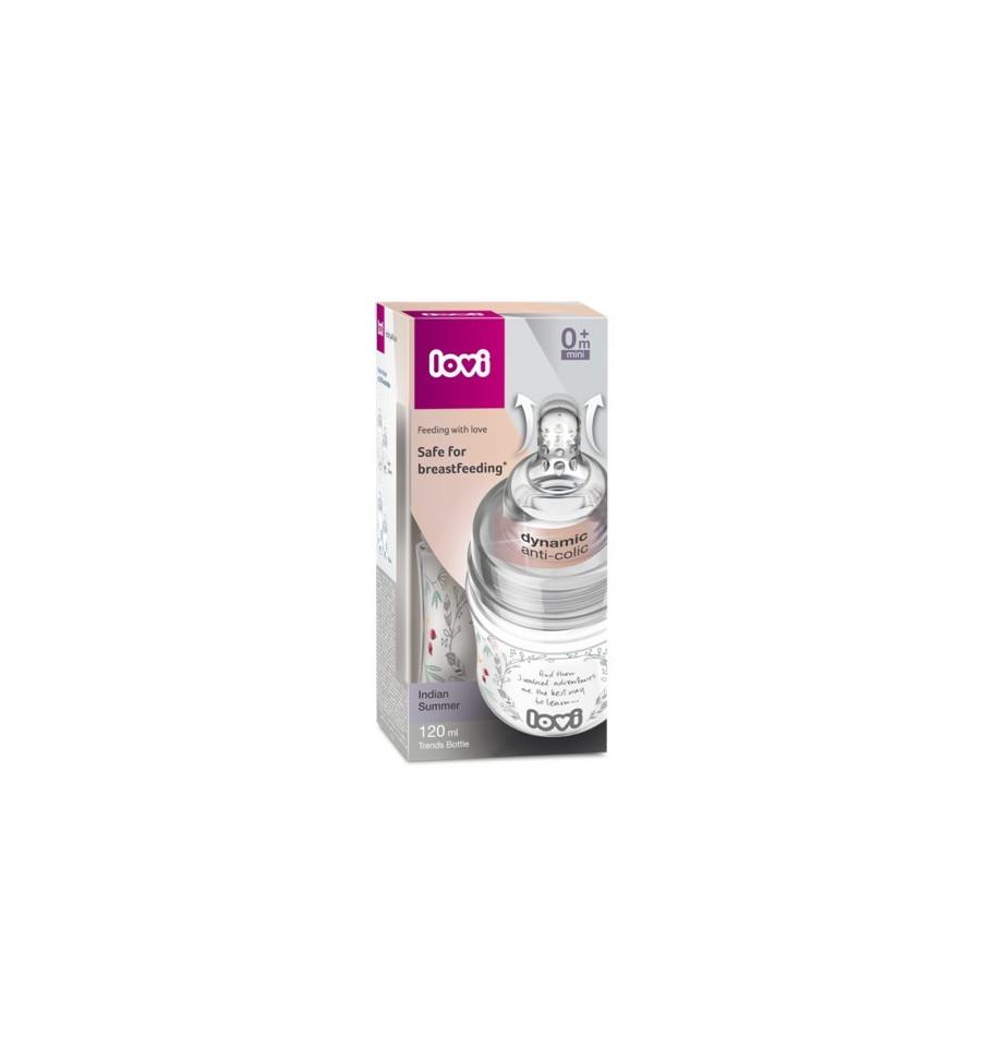 Lovi dojčenská fľaša Trends Indian Summer 120 ml 0 m+