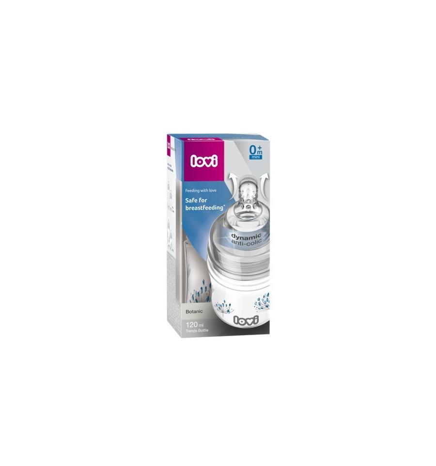 Lovi dojčenská fľaša Trends Botanic 120 ml 0 m+