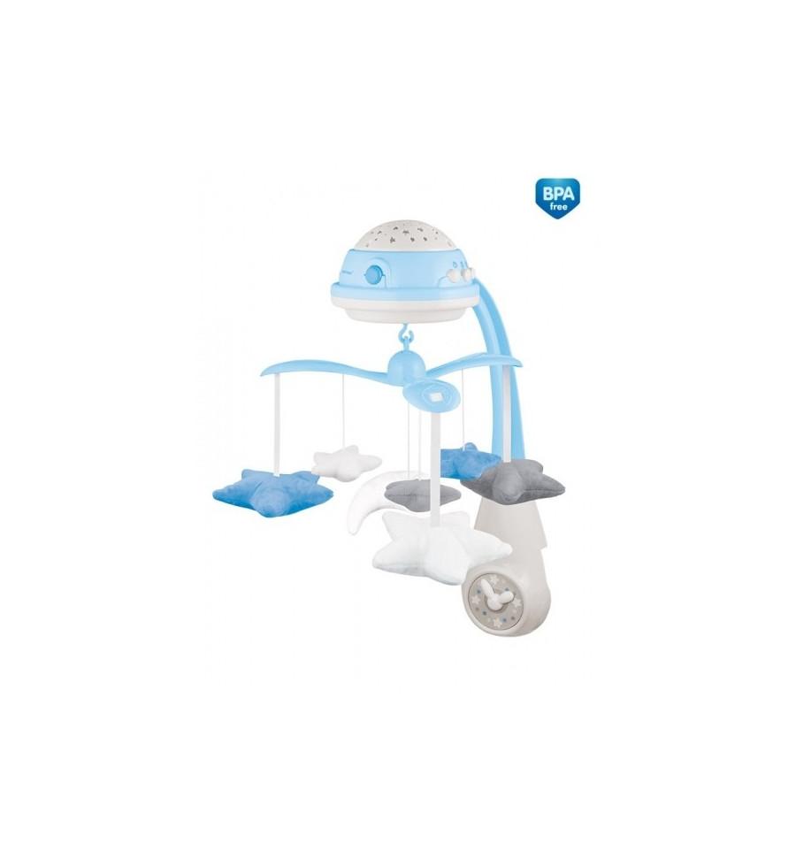Canpol babies Elektrický hudobný kolotoč s projektorom