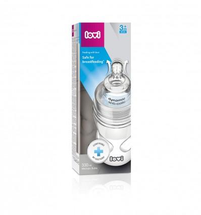 Lovi cumisüveg SuperVent Medical+  3 h+ 330 ml