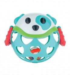 Canpol babies Interaktív játék csörgővel türkiz kutyus