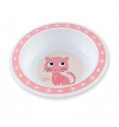 Canpol babies Műanyag tálacska Cute Animals 270ml 4hó+