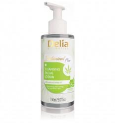 Delia Botanical flow čistiace pleťové mlieko s konopným olejom 150 ml