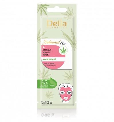 Delia Botanical flow upokojujúca maska z červenej hliny 10 ml