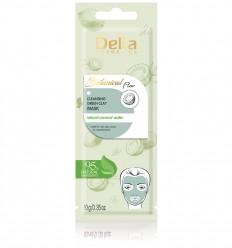 Delia Botanical flow čistiaca maska zo zelenou hlinou 10 ml