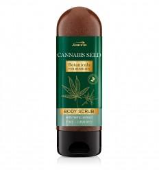 Joanna Botanicals hidratáló bőrradír kannabisz olajjal 200 g