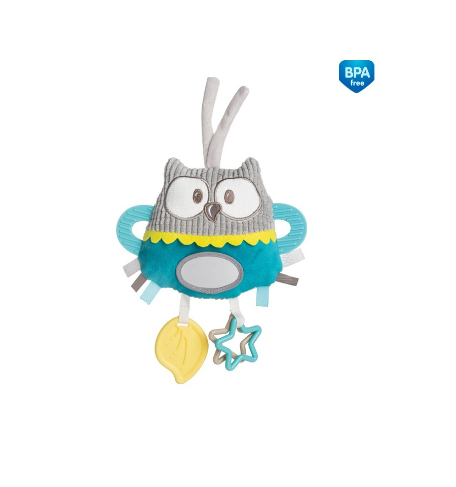 Canpol babies Plyšová hračka závesná tyrkysová 0m+ Pastel friends