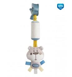 Canpol babies Plyšová hračka závesná koralová zvoní 0m+ Pastel friends