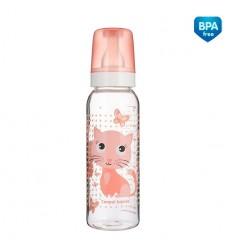 Canpol babies Dojčenská fľaša plast Cute Animals 250 ml 12m+