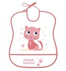 Canpol babies Podbradník Cute animals plastový mäkký