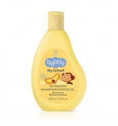 Bebble Banánový šampón a sprchový gél 2v1 250 ml