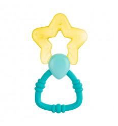 Canpol babies Hűsítő rágóka csörgővel Varázspálca sárga