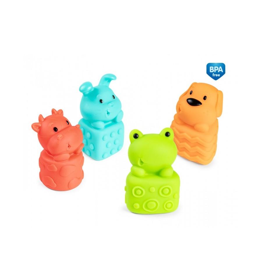Canpol babies Sada hračiek do vody Zvieratká 4 ks
