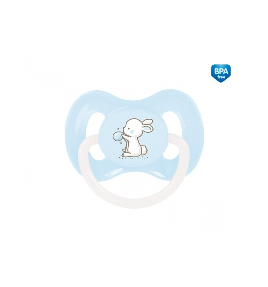 Canpol babies Cumlík utišujúci Little Cutie silikón symetrický A 0-6m