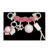 Canpol babies Plyšová hračka na kočík Pastel Friends ružová