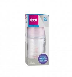 Lovi cumisüveg Diamond Glass 150ml 0hó+ Baby Shower lány