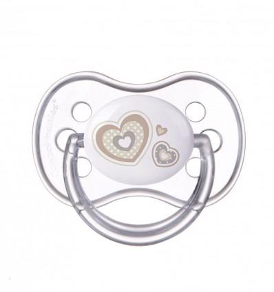 Canpol babies Cumlík utišujúci Newborn Baby kaučuk okrúhly A 0-6m