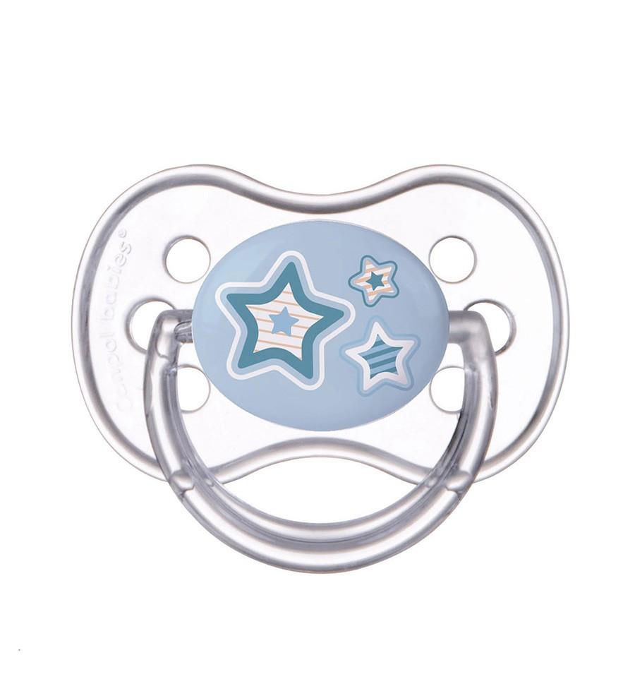 Canpol babies Cumlík utišujúci Newborn Baby kaučuk okrúhly B 6-18m