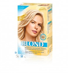 Blond- Fehérjéket tartalmazó szőkítő (6 árnyalat)