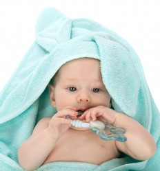 Canpol babies Osuška bavlna 100x100 cm tyrkysová