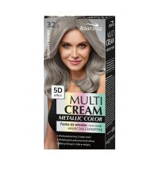 Multi Cream Color farba na vlasy metallic - Strieborný blond 032.5