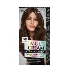 Multi Cream Color farba na vlasy metallic - Chladná hnedá 040.5