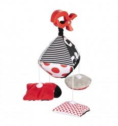 Canpol babies Plyšový kolotoč na kočík Sensory Toys