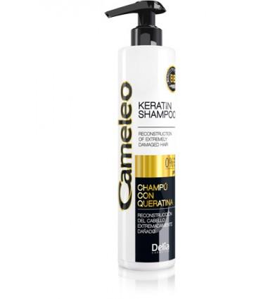 Keratínový šampón na extrémne poškodené vlasy  CAMELEO