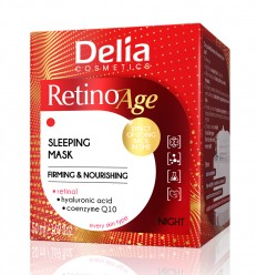 Delia Spevňujúca a výživná nočná maska 50 ml