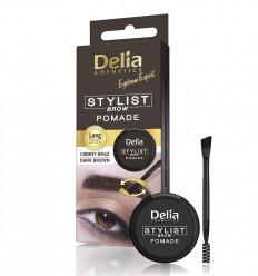 Delia Pomáda na obočie tmavá hnedá 4 g