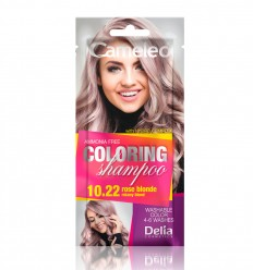 Delia Cameleo Farbiaci šampón 10.22 Ružový blond 40 ml