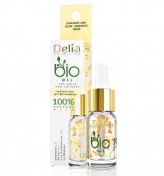 Delia BIO Výživný hybridný olej pre poškodené a pomaly rastúce nechty 10 ml