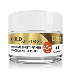Delia Gold & Collagen 45+ Protivráskový krém 50 ml