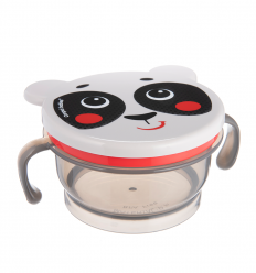Canpol babies Miska na desiatu 200 ml Hello Little panda béžová