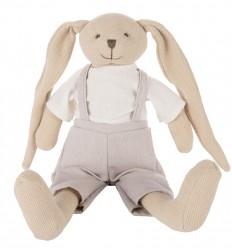 Canpol babies Plyšová hračka maznáčik Zajačik béžový