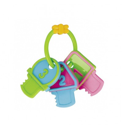 Canpol babies Hrkálka s hryzačkou 3 kľúče