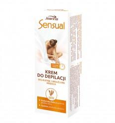SENSUAL Krém na depiláciu citlivých miest ovsené mlieko 100 g